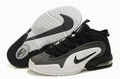 Nike Air Max Penny 1 Men's White/Black #shoes
