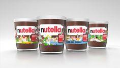 Nutella, Esperienza Italia 150 | CreativeRoots - Art and design inspiration from around the world #packaging #nutella #italy