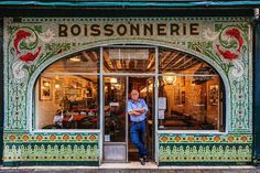 Sebastian Erras Documents The Beauty of Paris Through its Colourful Storefronts