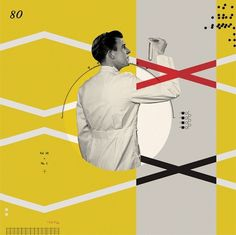 cristiana couceiro #yellow #couceiro #vintage #neuroscience #wired #magazine