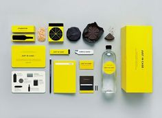 End-of-the-world survival kit | BLDGWLF #just #branding #in #yellow #black #chocolate #case #identity #logo