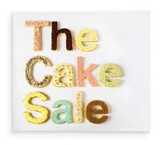 Aad → Cake Sale #typography