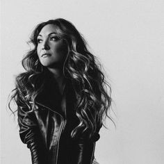 black and white, photography,leather, curly hair, hair, curly