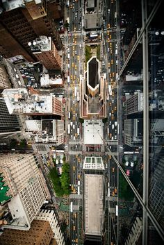 CJWHO ™ (Intersection | NYC by Navid Baraty New York is...) #streets #aerial #new #perspective #city #photography #architecture #nature #york #green
