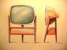 1957 Predicta Concept.JPG 467×350 pixels #industrial #design #philco #predicta