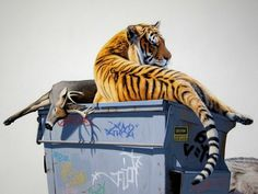 Josh Keyes « PICDIT #artist #colour #animal #painting