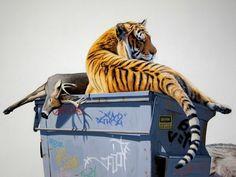 Josh Keyes « PICDIT #artist #colour #animal #painting