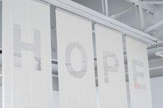 hope : Guilherme #hope #blinds #helvetica #light #typography