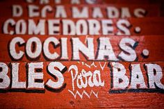 3327715294-8a8b5910c3.jpg (JPEG Image, 500x333 pixels) #mexican #painted #hand #typography
