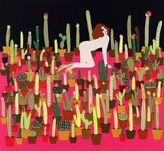Annie Descôteaux - Artiste #print #illustration