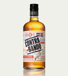 Contrabando | Lovely Package #glass #alcohol #bottle