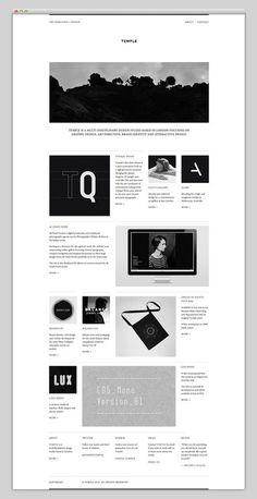 Temple #layout #website #web #web design #site