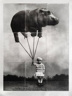 Playful and Sinister Solarplate Etchings
