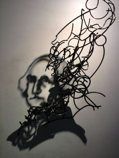 CJWHO ™ (Incredible Shadow Art Created Out Of Messy Steel...)