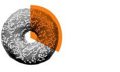 KONTRAPUNKT / OUR WORK: Brand Identity #pie #infographic #doughnut #graphic #info #donut #sprinkles #chart