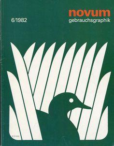 Novum Gebrauchsgraphik 6/1982/ #magazin #graphik #design #novum #gebrauchsgraphik #1982 #magazine