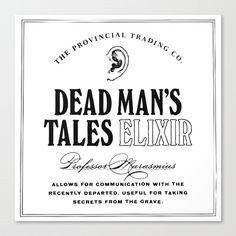 The Provincial Trading Co. Winter Hebert #dead #men