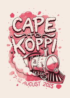 Ian Jepson for Cape to Koppi #inspiration #illustration #poster #oppikoppi
