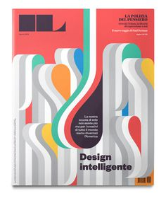 la tigre #ribbons #intelligente #design #color #cover #magazine