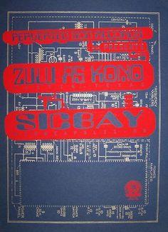 Zulu As Kono, Sicbay - Gig Poster