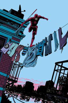 daredevil cover #chris #comics #samnee