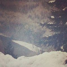 Instagram #fog #instagram #snow #photography #river #trees