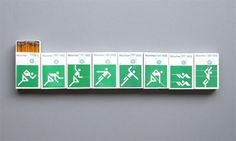 Otl Aicher 1972 Munich Olympics - Lighters Matchbooks and Matchboxes #otl #1972 #aicher #olympics #munich