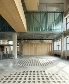 Reconstructed Industrial Building Mlynica by Studio GutGut - InteriorZine