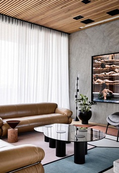 Holly Penthouse in Melbourne Combines Luxury with a Welcoming Atmosphere 4