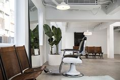barbershop interior design