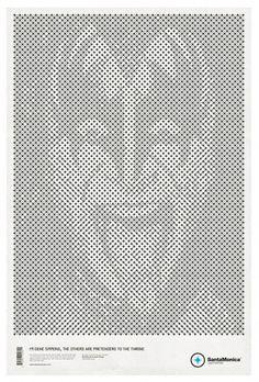 STAR GRID POSTERS + SANTAMONICA '10/11 on the Behance Network #print #poster