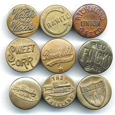 Mr Cup Found items #typography #vintage #type #buttons