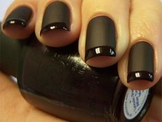 Nickel Cobalt ($1-20) — Svpply #nails #matte #black #glossy