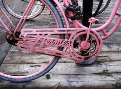 Bicycle Bicycle Bicycle elidialentini #pink #chain #bike #bicycle