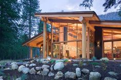 Canyon House — Balance Associates, Architects #inspiration #house #modern #architecture #canyon
