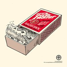 Firewater - Dachstock, Bern on Behance #matchbox