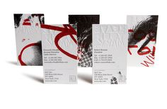 Bleed #design #cards #business #typography