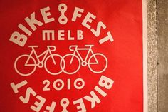 Melbourne BikeFest | SouthSouthWest #bicycle #bike #identity #branding