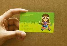 Green Business Cards Design Inspiration