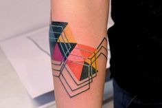 marcin aleksander surowiec | Tumblr #abstract #tattoo #geometry #lines