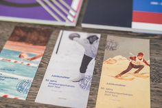 Sports anniversary publication on Behance