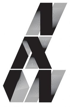 Nixon on the Behance Network #type #typography