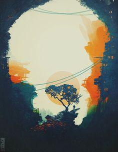Orange Tree by Glenn Porter