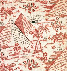 textile #pyramid #illustration #textile
