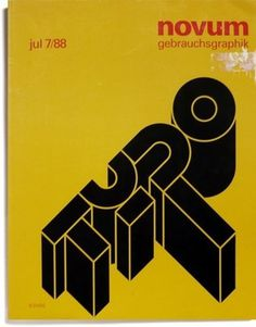 FFFFOUND! | Counter-Print.co.uk - Gebrauchsgraphik Jul 7/88 #typo #typography
