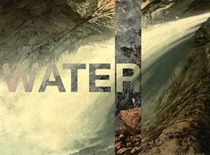 Playing with the Elements (8 total) - My Modern Metropolis #elements #retrofuturs #water #typography