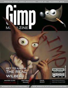 GIMP Magazine Issue 2 DRAFT 1 page001 Website #print #graphic #novel #digital #arts #gimp #magazine