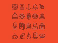 Tugboat Icons #dvsdv