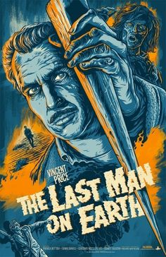 Last Man on Earth #illustration #movie #poster #typography