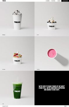TREAT. - Mindsparkle Mag - TREAT. is a delicious ice cream and smoothie brand located in several places in the UK whose website is awarded a